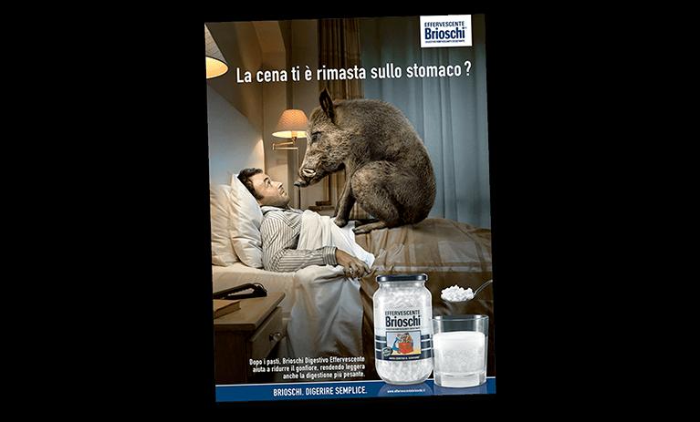 Brioschi Il Cinghiale Print Advert