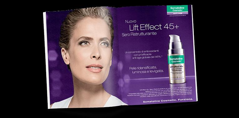 Somatoline Cosmetic Magazine Print Advert