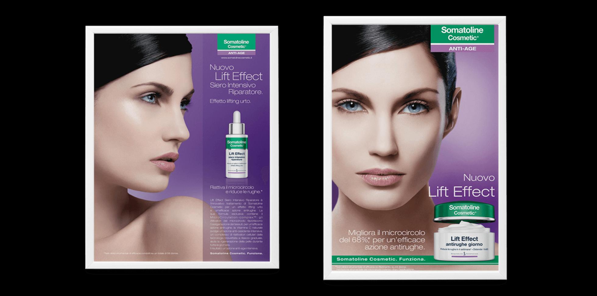 Somatoline Cosmetic Print Advert