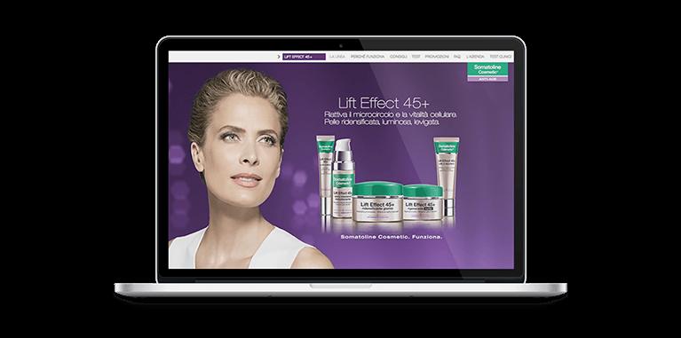 Somatoline Cosmetic Website