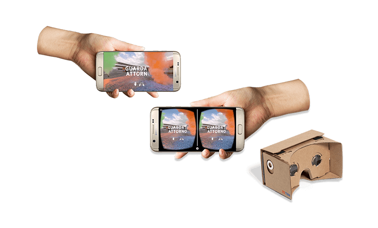 TIM Next Virtual Reality Campaign