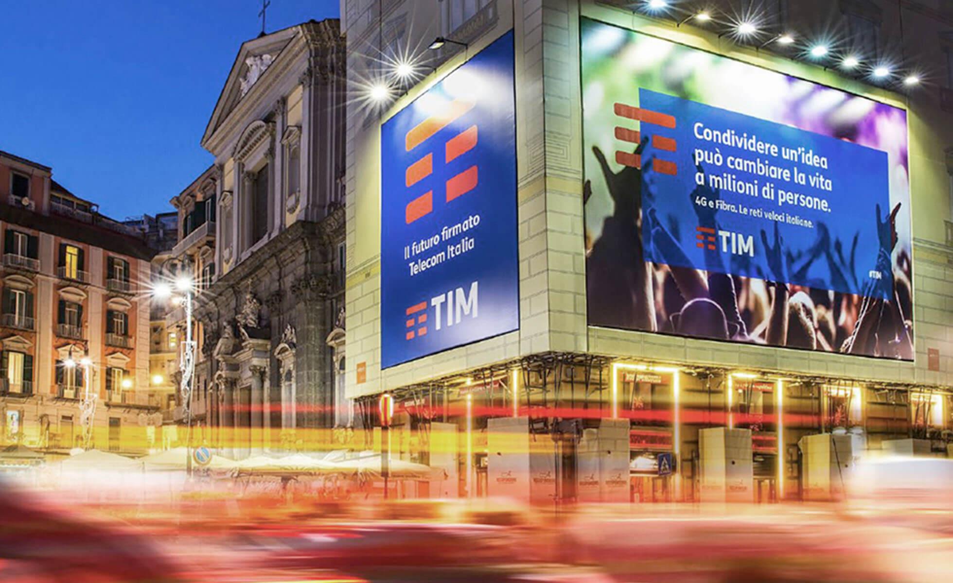 TIM Rebranding Billboard Prints