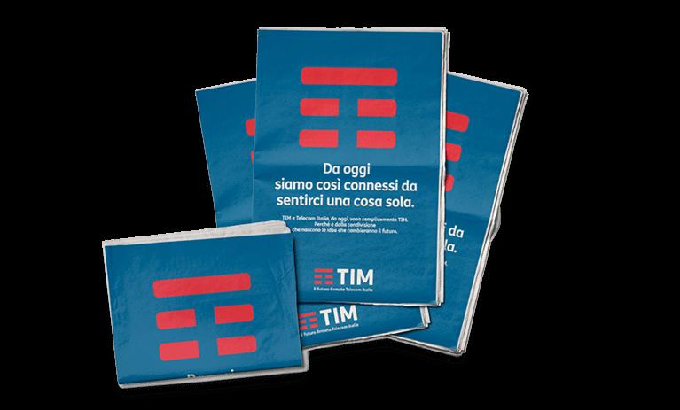 TIM Rebranding Newpaper Prints