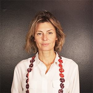 Cristina Rolando's website profile portrait