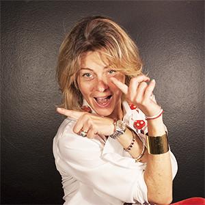 Cristina Rolando's website profile portrait